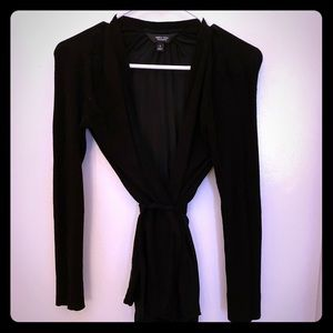 Simply Vera, Vera Wang black cardigan